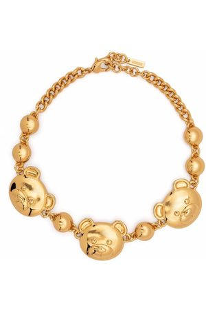 Moschino Teddy Bear chain necklace