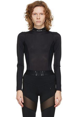 Moncler Logo Open Back Bodysuit