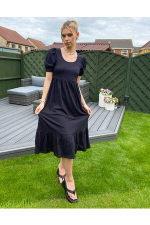 ONLY Women Casual Dresses - Tea dress with puff sleeve in