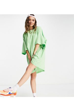 Weekday Huge exclusive organic cotton t-shirt dress in