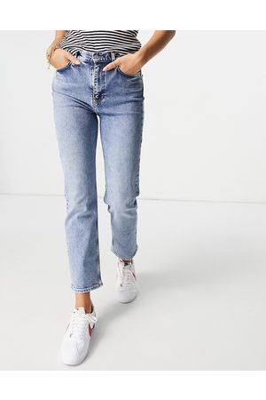 & OTHER STORIES Favourite organic blend cotton straight leg high rise jeans in LA