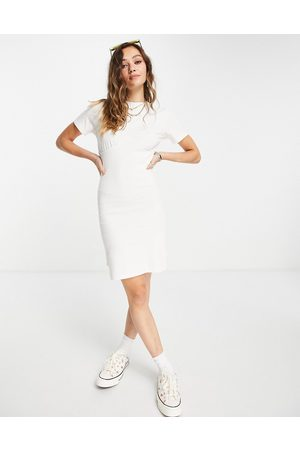 Noisy May Women Casual Dresses - Fitted mini t-shirt dress in
