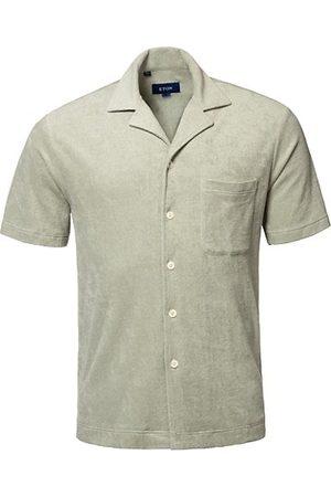 Eton Men Casual - Terry Button-Front Shirt