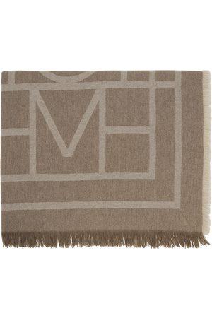 Women Scarves - Totême Wool & Cashmere Monogram Scarf