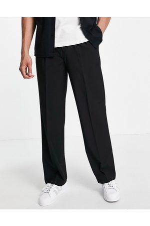 ASOS DESIGN Co-ord smart wide leg trouser in