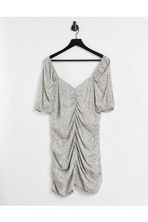 Envii Cilantro ruched mini dress muticoloured-Multi