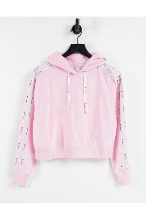 Champion Women Sweatshirts - Cropped hoodie in