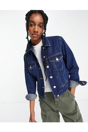 French Connection Denim jacket in mid wash