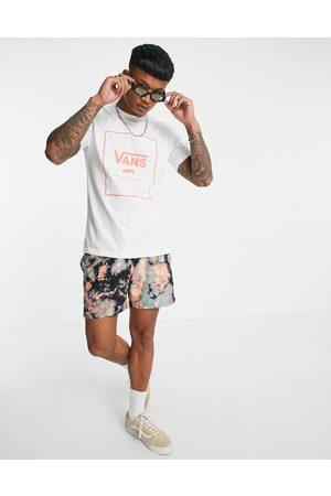 Vans Men Short Sleeve - Classic Print Box t-shirt in /coral