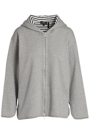 Theory Zip-Up Sweatshirt Hoodie