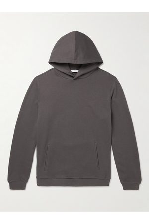 On Gossamer Men Sweatshirts - Recycled Cotton and Cashmere-Blend Jersey Hoodie