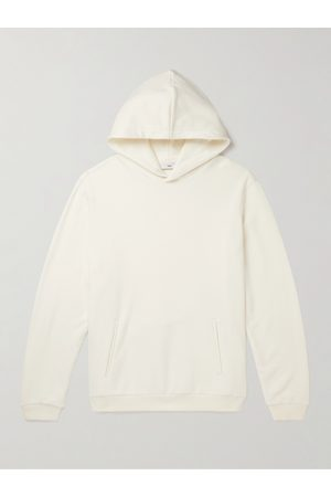 SSAM Recycled Cotton and Cashmere-Blend Jersey Hoodie