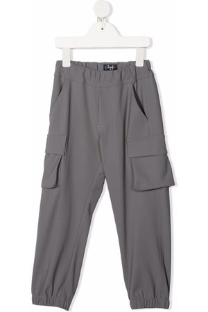 Il Gufo Boys Cargo Pants - Elasticated cargo trousers