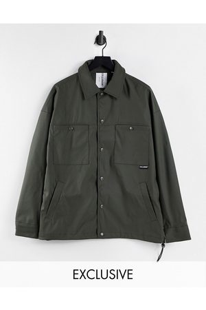 COLLUSION Women Jackets - Rubber shacket in