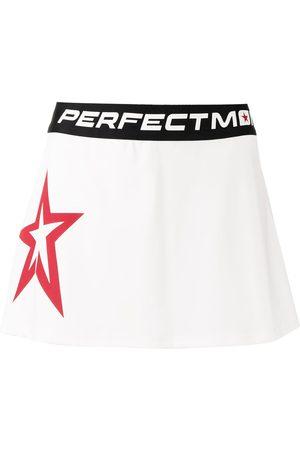 Perfect Moment Starlight logo-print mini skirt
