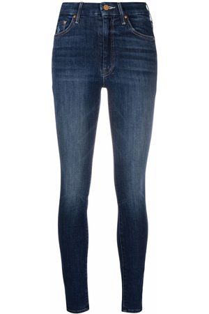 MOTHER High-waisted skinny jeans