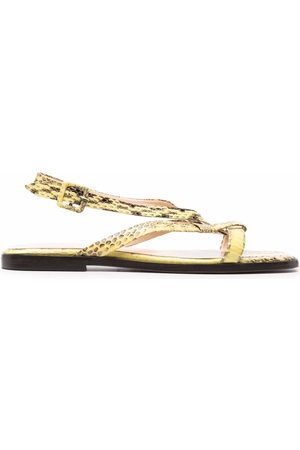 Tila March Origami plate sandals