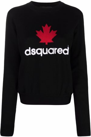 Dsquared2 Logo-print knitted jumper