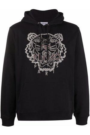 Kenzo Logo-embroidered hoodie