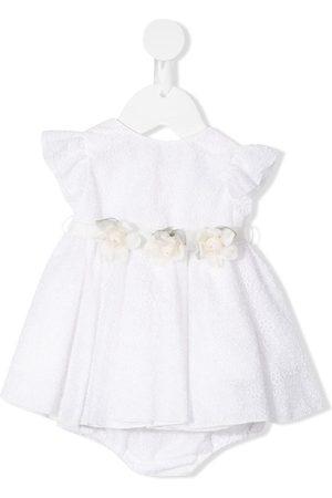 LA STUPENDERIA Gloria floral belt lace dress set