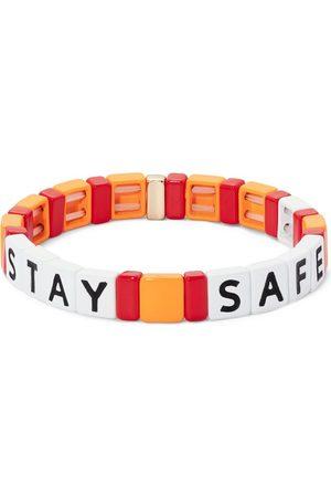 Roxanne Assoulin Stay Safe beaded bracelet