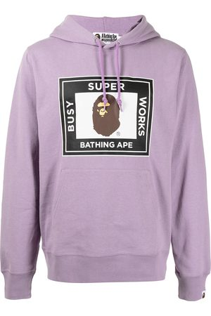 A Bathing Ape Super Busy Works Pullover hoodie