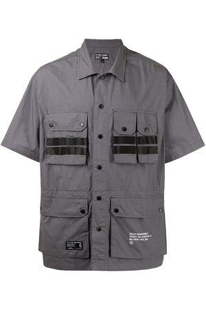 Izzue Men Short sleeves - Short-sleeve cotton cargo shirt