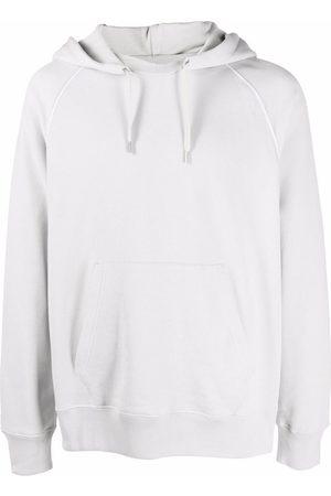 Helmut Lang Back-logo cotton hoodie