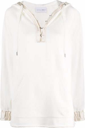 AZ FACTORY Women Hoodies - Hook-fastening oversized hoodie