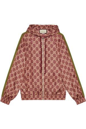 Gucci GG Supreme printed silk jacket