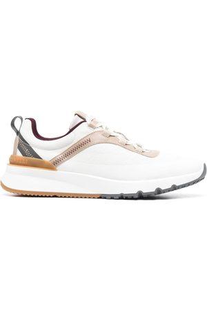 Brunello Cucinelli Men Sneakers - Low top contrast stitch sneakers
