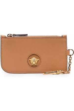 Versace La Medusa leather wallet