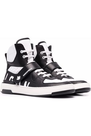 Dsquared2 Kids TEEN lace-up high-top sneakers