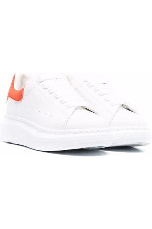 Alexander McQueen Kids Lace-up platform-sole sneakers
