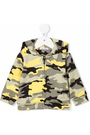 Dolce & Gabbana Kids Camouflage-print hoodie