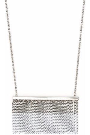 MM6 Maison Margiela Fringe pendant necklace