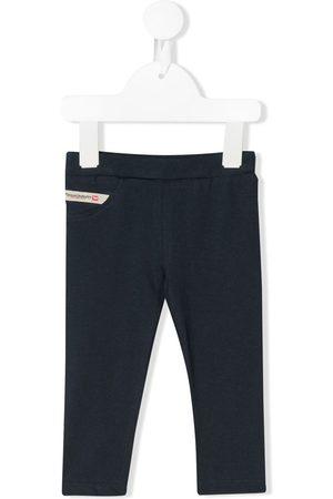 Diesel Kids Logo patch elasticated waist leggings
