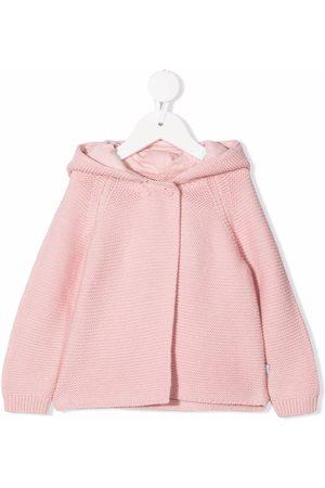 Stella McCartney Kids Knitted hooded jacket