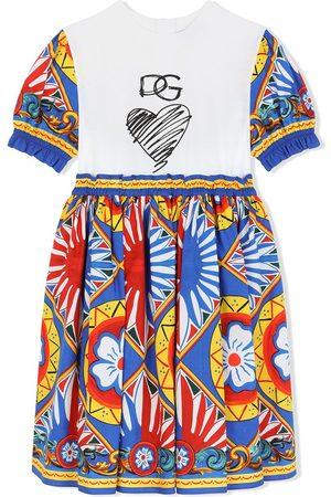 Dolce & Gabbana Kids Graphic-print skater dress