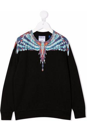 Marcelo Burlon County Of Milan Kids Wings-print sweatshirt