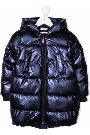 Billieblush Metallic puffer jacket