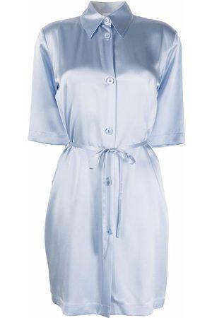 La Perla Tie-waist silk nightdress