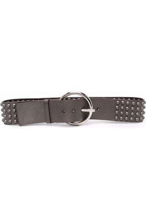 Gianfranco Ferré Pre-Owned Women Belts - 2000s stud-embellished leather belt
