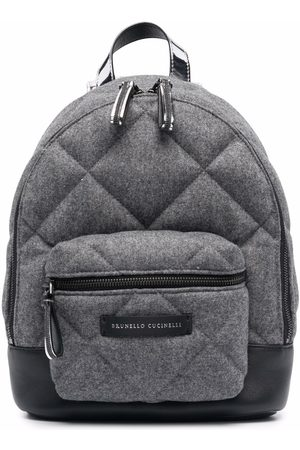 Brunello Cucinelli Kids Quilted backpack