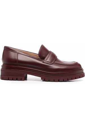 Gianvito Rossi Argo leather loafers