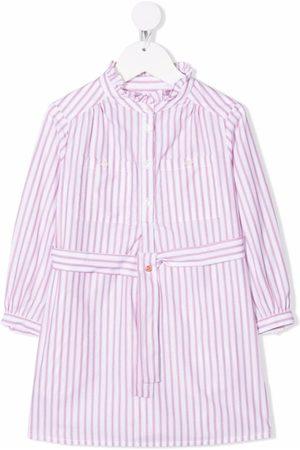 Bonpoint Stripe-print shirt dress