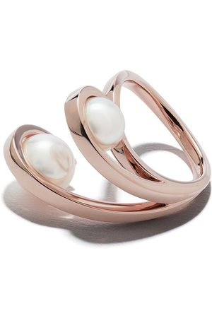 TASAKI 18kt rose gold Aurora Akoya pearl ring
