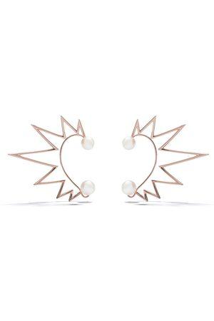 TASAKI 18kt rose gold Nacreous South Sea pearl ear cuffs