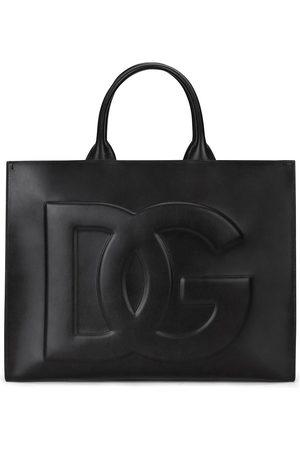 Dolce & Gabbana Women Handbags - Large Beatrice leather tote bag