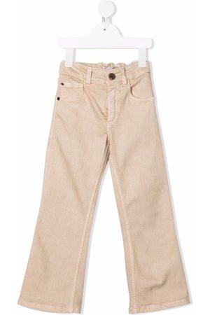 Brunello Cucinelli Kids Straight-leg cotton jeans